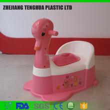 Plástico orinal bebé / asiento del inodoro bebé ( music player ) pato / conejo / ant