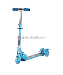 HKU-4757 cheap 3 PVC Wheels kick scooter, foldable scooter ,kids foot scooter