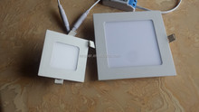 Thickness 3W LED downlight Square LED panel / pannel light bulb for bedroom luminaire ceiling lights