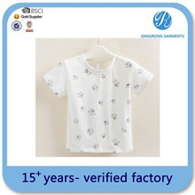 Oem Service Child T-Shirt Custom Print T-Shirt Wholesale Child Plain No Brand T-Shirt