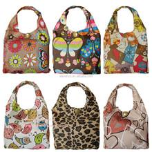 Summer Folding Waterproof Thickening Portable Bag Reusable Shopping Bag