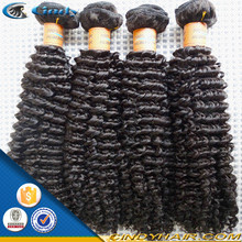 100% pelo rizado virgen mongol afro rizado tejer cabello humano