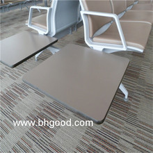 chair writing tablet; compact HPL writing pad; high pressure laminate