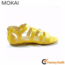 50S-12 YELLOW 2015 fashion wholesale women shoes summer sandals,fashion style sandal picture, 2015 new style woman shoes