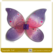 Gifts & Crafts angel wings for sale party decoration top quality Purple pattern butterfly fairy wing