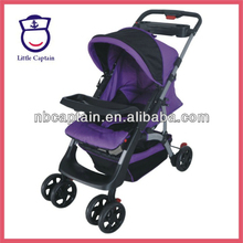 Beautiful deluxe cloth baby stroller