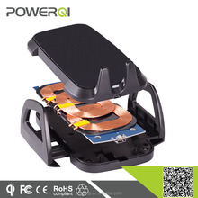 POWERQI Qi certified electromagnetic induction wireless charger for iPhone 6 car holders