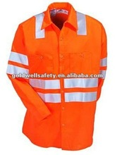 cotton high visibility jacket with inner coat