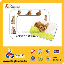 Customized Magnetic Photo Frame magnet refrigerator magnet picture frame