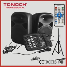 1000 watt EOT215P Professional Audio Sound Mixers with 2 way 15 inch speaker