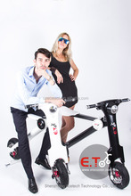 Fashion and Simple Design Electric Motorcycle 48V 350W Folding Electric Scooter with aluminium Alloy, Lithium Battery, CE,FCC