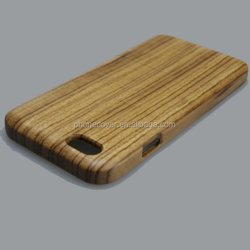 Wholesale New Arrival Customized Design Hard PC + Wooden BambooBlanks Cell Phone Cases For iPhone 6S