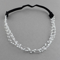 Women's Multilayer Delicate Imitation Pearls Hair Bands
