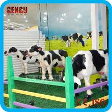 amusement park animatronic cow model