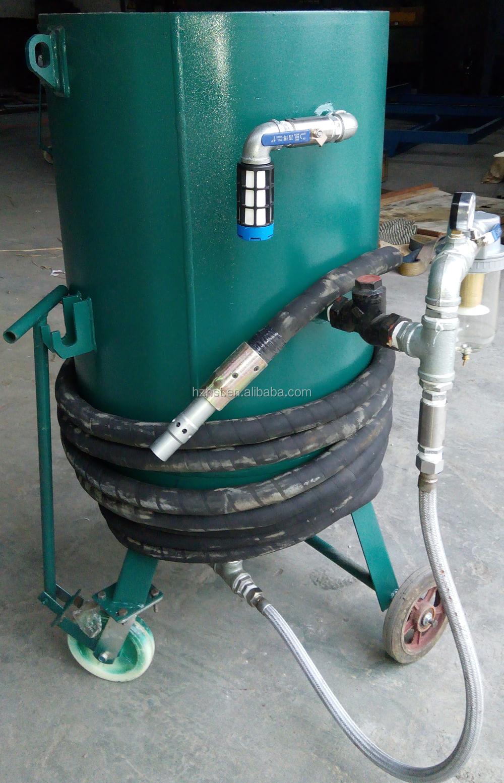 portable grit blasting machine