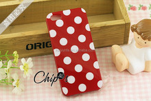2015 Brand New Fashion Girlish Design Polka Dot Phone Case For Iphone 6