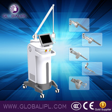 Permanent scar removal sun damage recovery co2 fractional laser rf excited machine