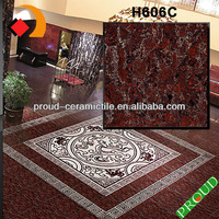 H606C Hot Sale Fashion Pearl Design Glossy Crystal Stone Polish Tile / Floor Tile / Wall Tile