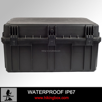 Hard ABS Plastic Waterproof Case /Anti-shock plastic Trunk Case HIKINGBOX Item No. HTC032