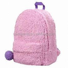 2015 new design kids backpack cute plush yellow emoji wallets poop backpack