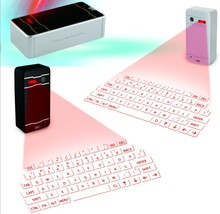 Wholesale Mini Wireless Virtual bluetooth laser Keyboard with mouse and bluetooth speaker function for Phone and Computer