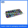 Tin pencil box metal pencil box tin stationary box