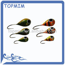 Por encargo colorida profesionales realizados peces de agua dulce señuelos