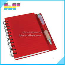 prfessional spiral notebook printing with cheap price