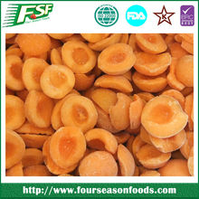 IQF/Frozen apricot halves/dices/slices, chinese frozen fruits 2015 new crop