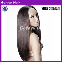 Most Popular Wholesale Cheap Silk Human Hair Full Lace Wig