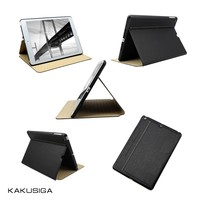 H&H ultra-thin silk pattern flip design smart cover for ipad mini retina leather case