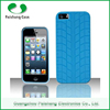 Tire Pattern finish custom soft TPU 6 colors shockproof anti-throw phone case cover for Apple iPhone 5 / 5s