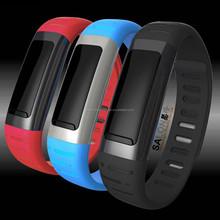 Smart Bracelet Smart Wrist Bluetooth 3.0 Watch/Music/Sleep Monitor/Pedometer/Time/Camera/Syncing Phonebook