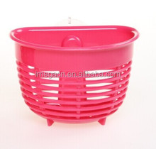 plastic kitchen room use suction sponge holding basket/cleaning ball holding basket/widely used basket (low section)