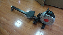 compact size rowing exercise machine for home use belt transmission rower fitness at home RM3069
