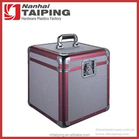 Professional Silver Aluminum Clad Hard Carry Case for Tool Storage Brand New