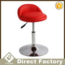 Low back rotatable chair seats