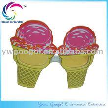 Novelty Plastic Ice Cream Sunglasses, Promotion Sunglasses