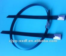 Stainless Steel Epoxy Coated Cable Tie - Ball Lock Type