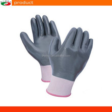 13 Gauge 15 Gauge Nitrile Full Dipped Nylon Gloves Nitrile Gloves safety working gloves