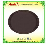 """14 """"inch Cafe and hotel round anti-slip plastic tray"""