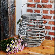 wholesale antique wire rattan lantern