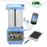 Rechargeable CHL electric lantern table lamp with television