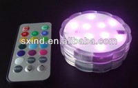 Remote Control Floralyte Submersible LED Table Centerpiece Light