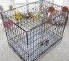 Outdoor Metal Portable Dog Cage Folding Wire Pet Crate