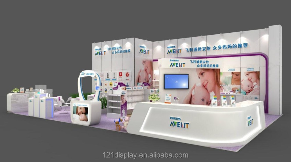 Standard Exhibition Booth : Modular standard exhibition booth with customized