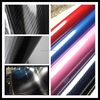 Ceein automobile high glossy adhesive carbon fiber roll red carbon fiber for car body wrapping