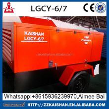 2015 air compressor 300 bar high pressure screw air compressor mining used