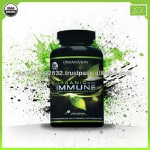 ORGANICORE IMMUNE - 100% organic immune system support / organic vitamins / natural and organic supplements