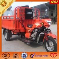 2015 hot sell three wheel cargo motorcycle in Tanzania